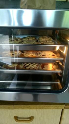 Crostata en el horno Laboratorio cocina Oratorio de Pontida