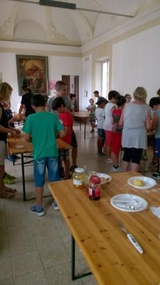 Laboratorio cocina Oratorio de Pontida
