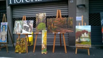 Muestra obras artista venezolana Gloria Bracho