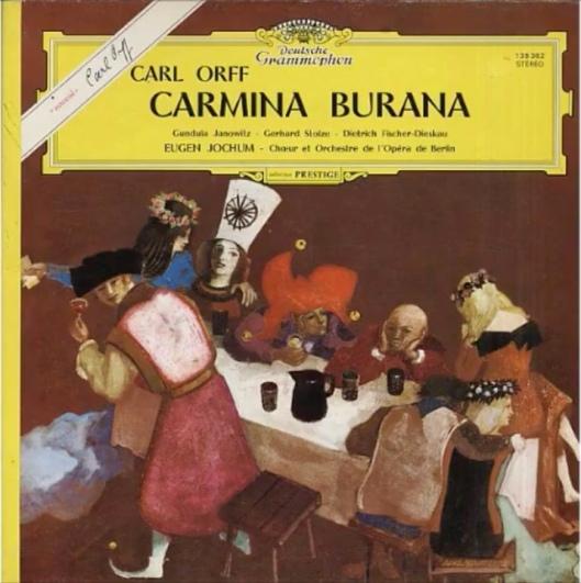 Carmina Burana - Eugen Jochum Fischer-Dieskau