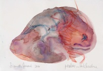 11 Piedras hablandome, 2014, acquerello su carta, 20,5x29 cm