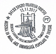 Annullo 15.11.2017 Poste Italiane