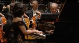 Khatia Buniatishvili, pianist - Tchaikovsky, Piano Concerto - Zubin Mehta Israel Israel Philharmonic Orchestra 3