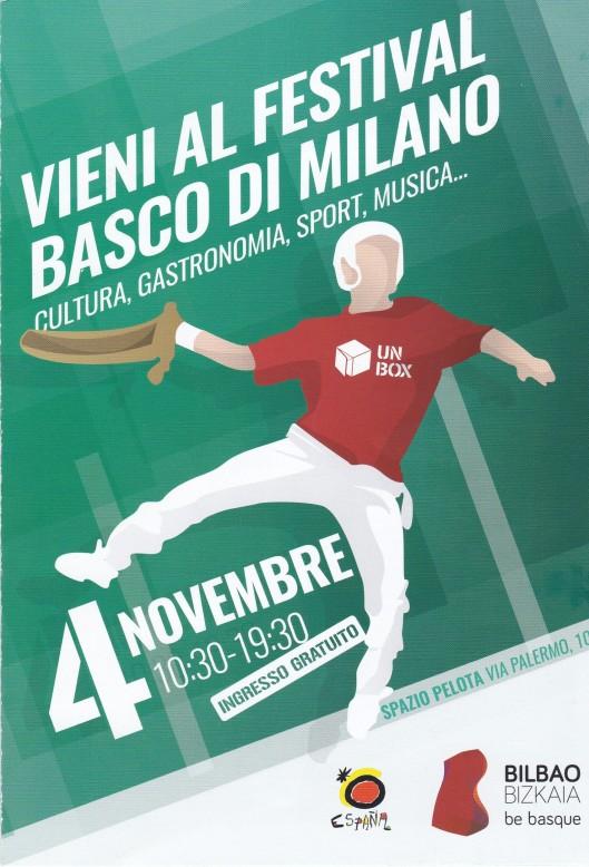 Milano Festival Basco