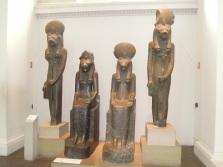 Estatuas de la Diosa Sekhmet.