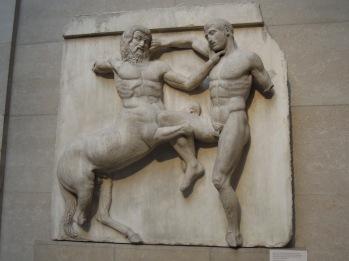 Metopas del Friso del Partenón.