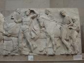 Pedazo del Friso del Partenón.