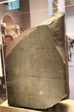 Piedra de Rosetta.
