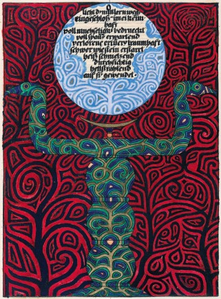 Carl Jung Illustration from the red book