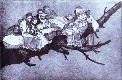 Ridiculous dream Francisco de Goya