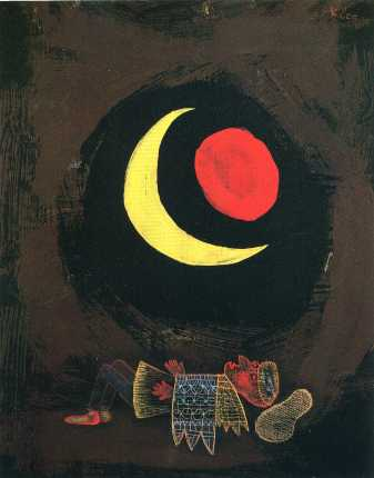 Strong Dream, 1929 by Paul Klee, Bauhaus.