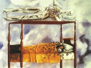The Dream (The Bed), Frida Kahlo 1940
