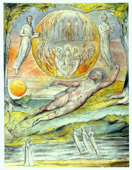 The Youthful Poet`s Dream William Blake 1820