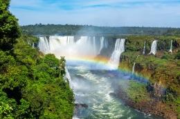 Cascadas de Iguazú, entre Brasil y Argentina.